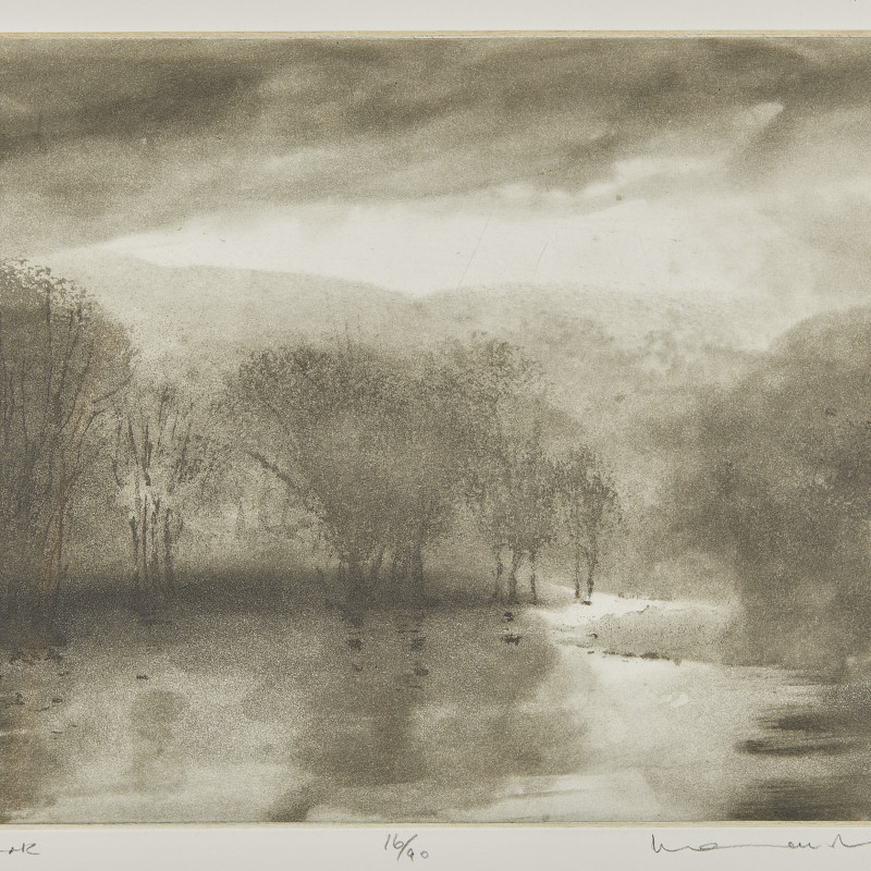 Norman Ackroyd, CBE, RA, Petworth Park