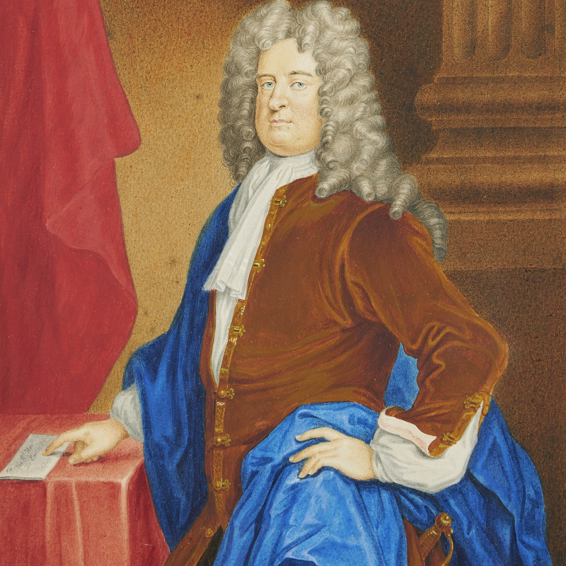 George Perfect Harding, Portrait of Edward Russel, Duke of Orford