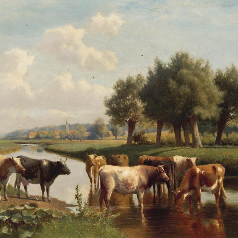 A pastoral scene