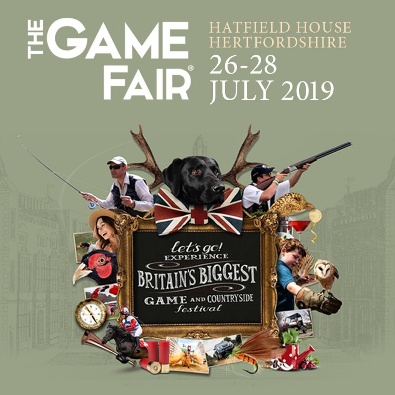 The Game Fair 2019 Hatfield House, Hertfordshire