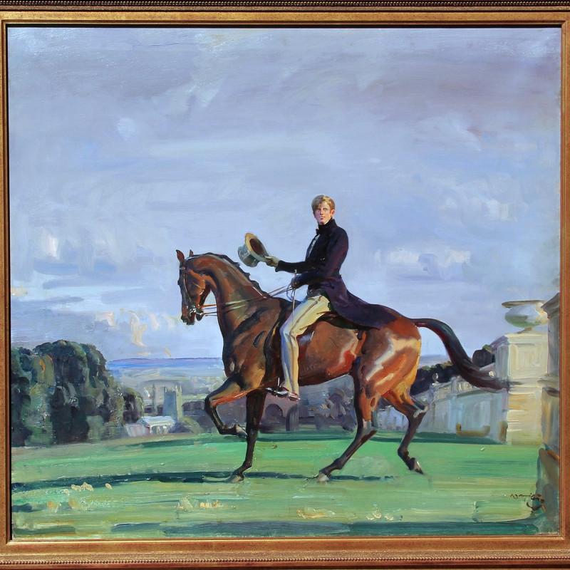 Alfred Munnings, a mystery.