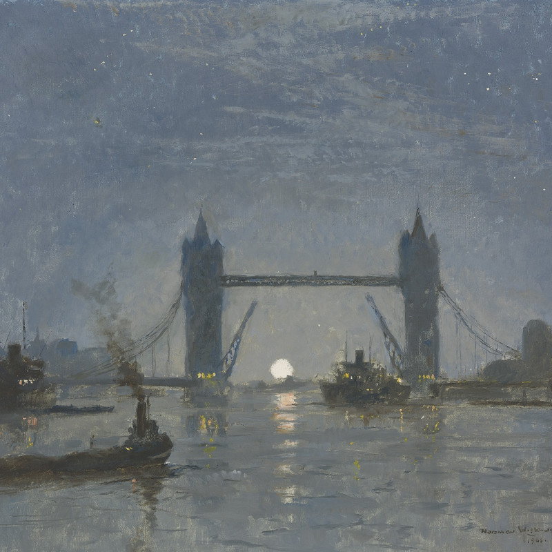 Norman Wilkinson and London