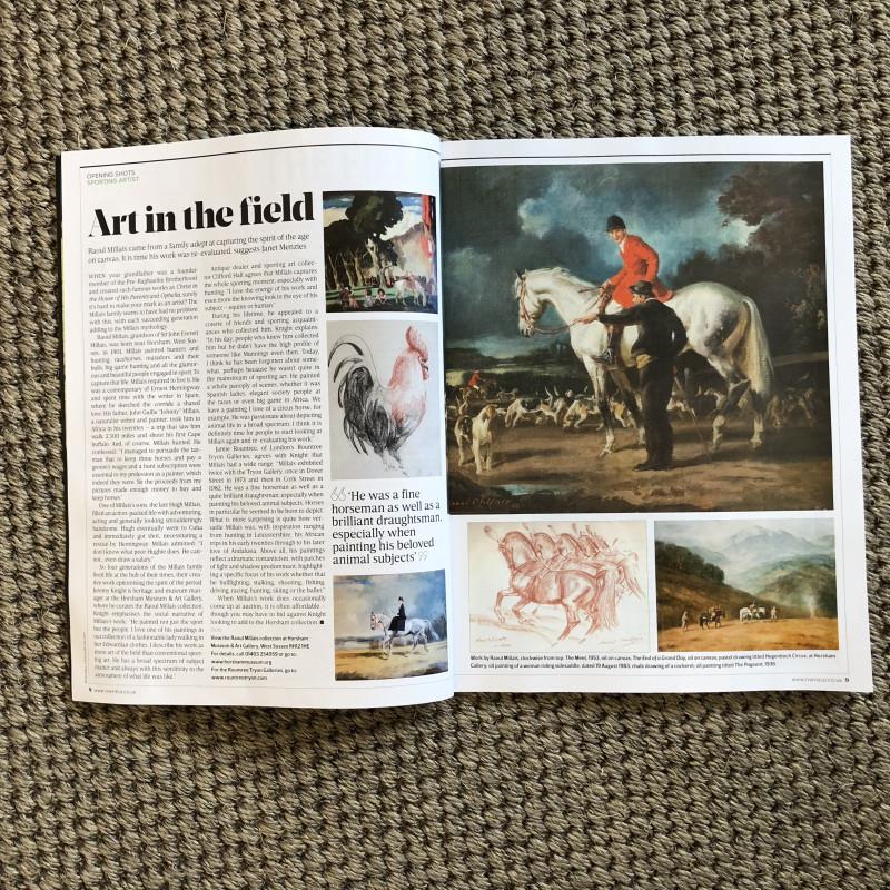 Art in the field: Raoul Millais