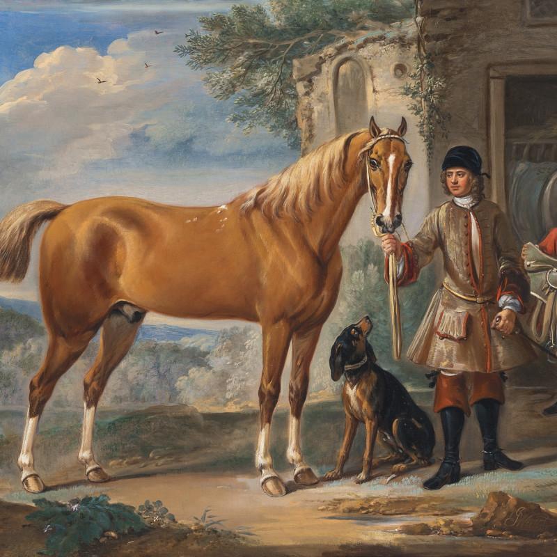 John Wootton 'John Shafto of Bavington Hall'