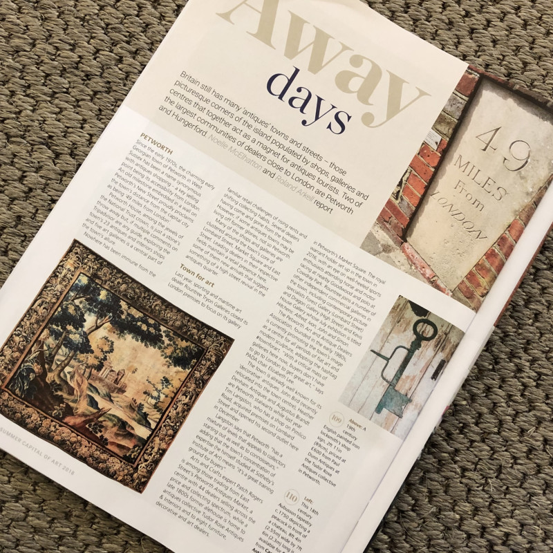 Antiques Trade Gazette: Away days, Petworth Town for art