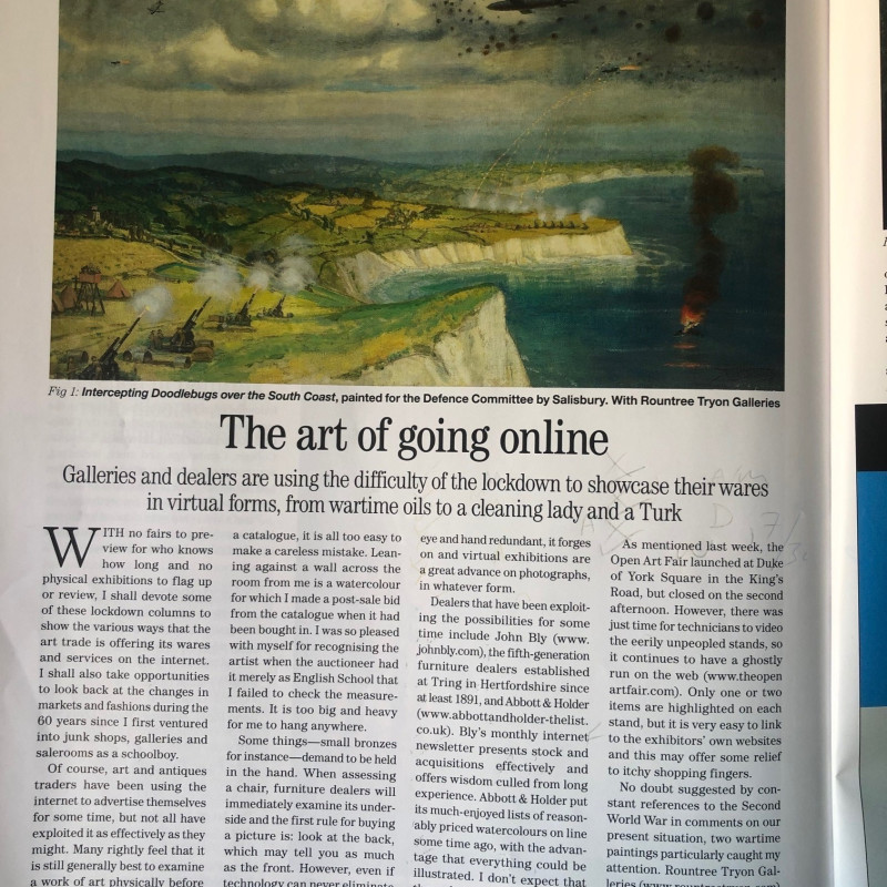 The art of going online