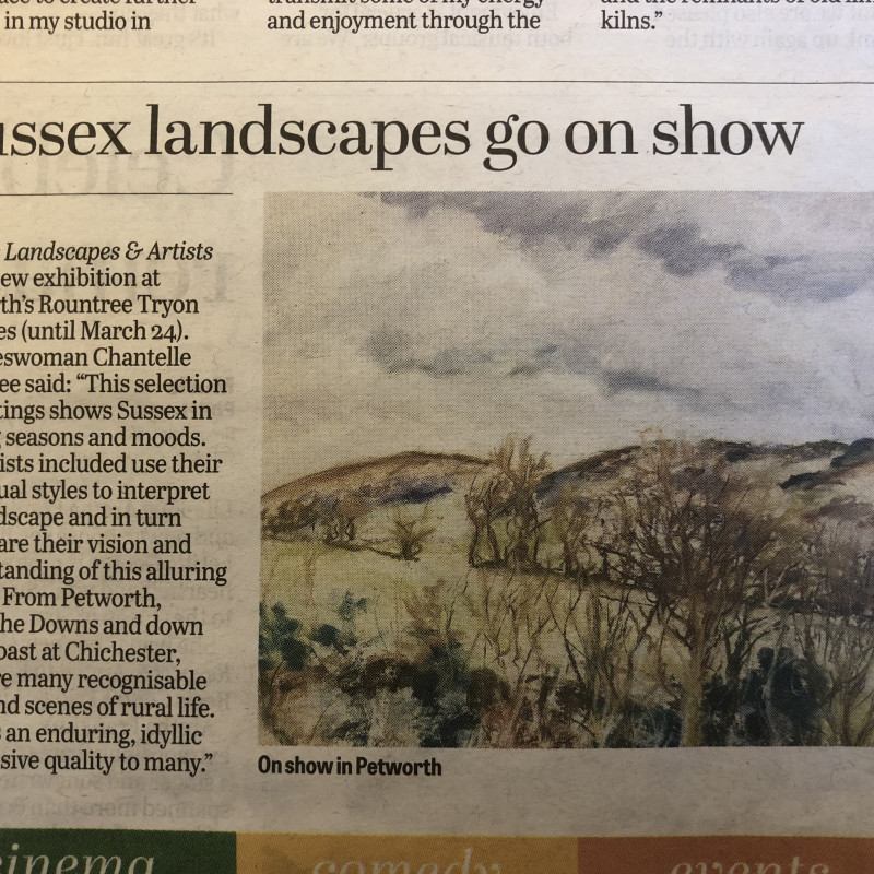 Sussex: Landscapes and Artists