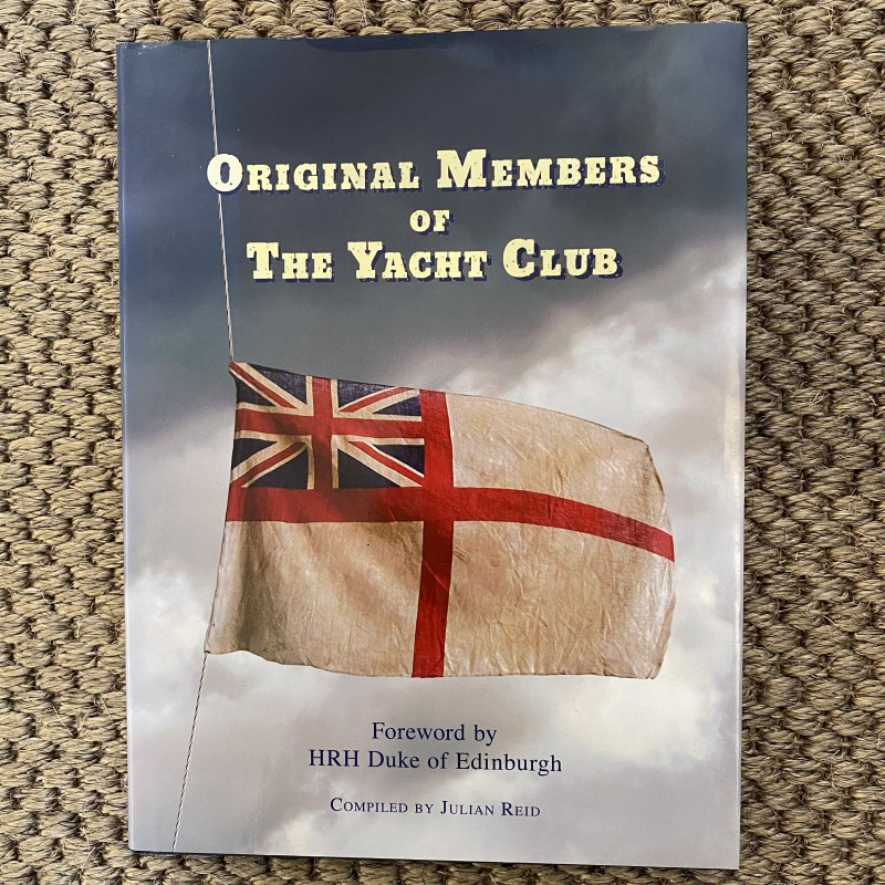 Original Members of The Yacht Club , Julian Reid