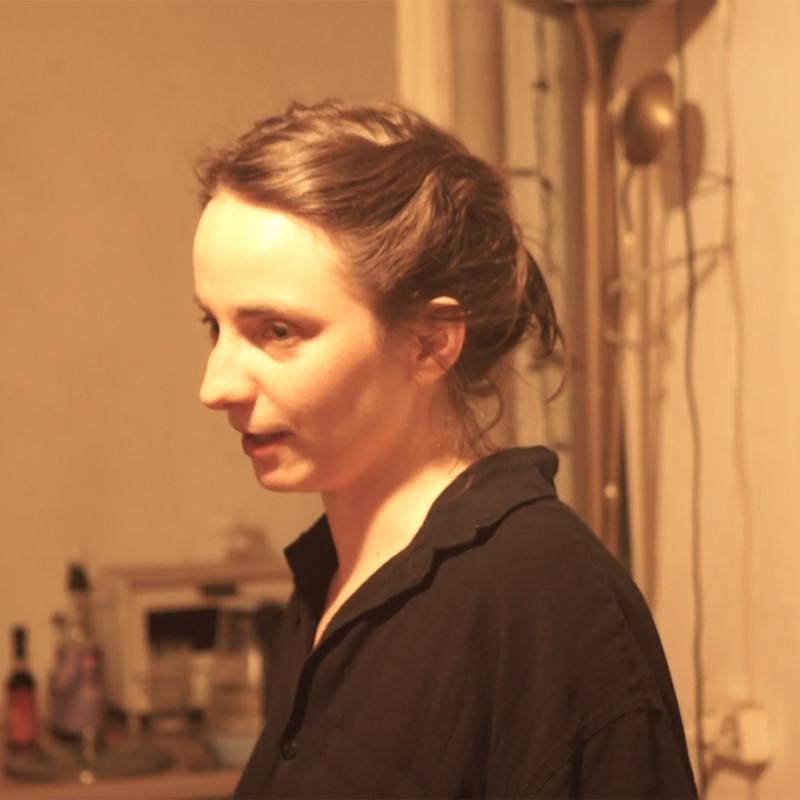 《厨房里的谈话》,影像装置,2019