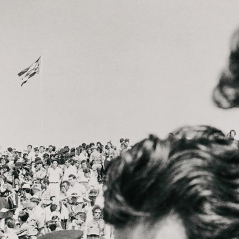 凯尼庆典上的菲德尔·卡斯特罗,古巴,1959年