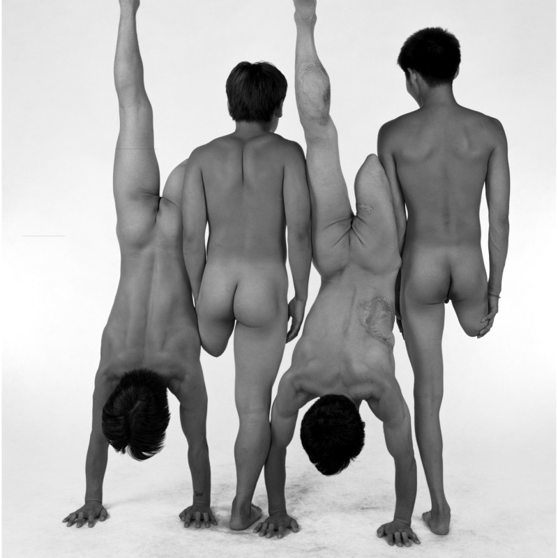 Zhao Liang Handicapped Acrobat Performers