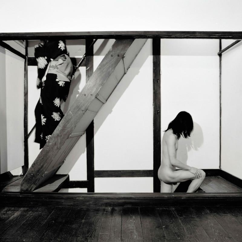 黄锐+荣荣 Huang Rui+RongRong,楼梯 1999 Stairs 1999,数字微喷 Inkjet Print