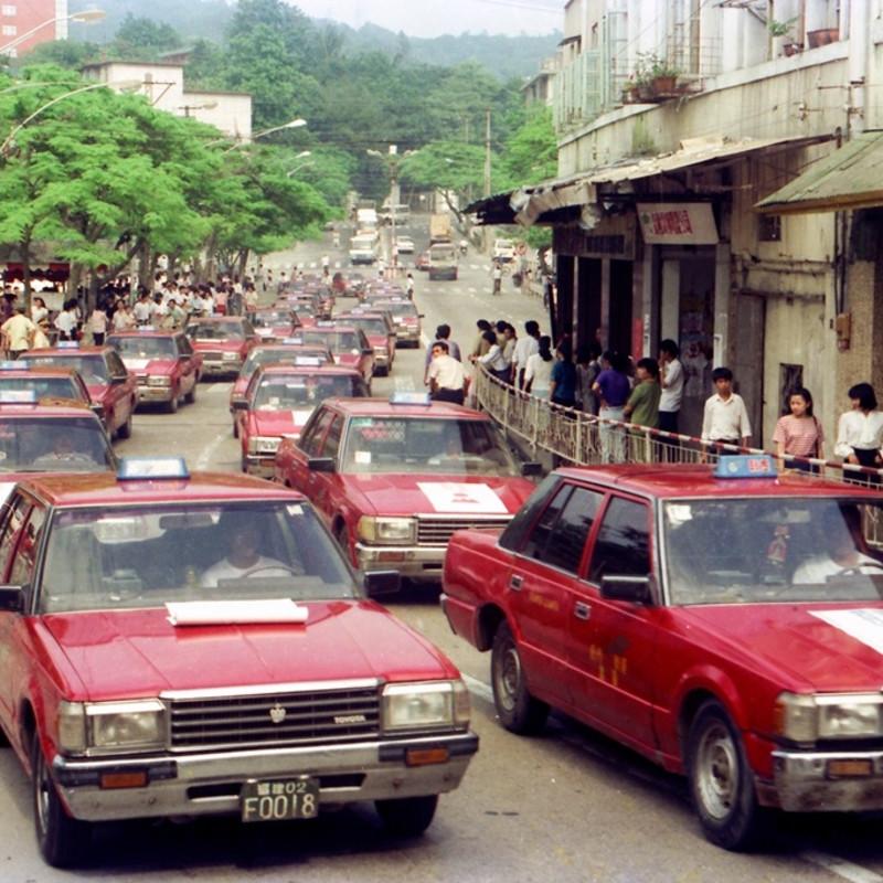 八十年代的出租车