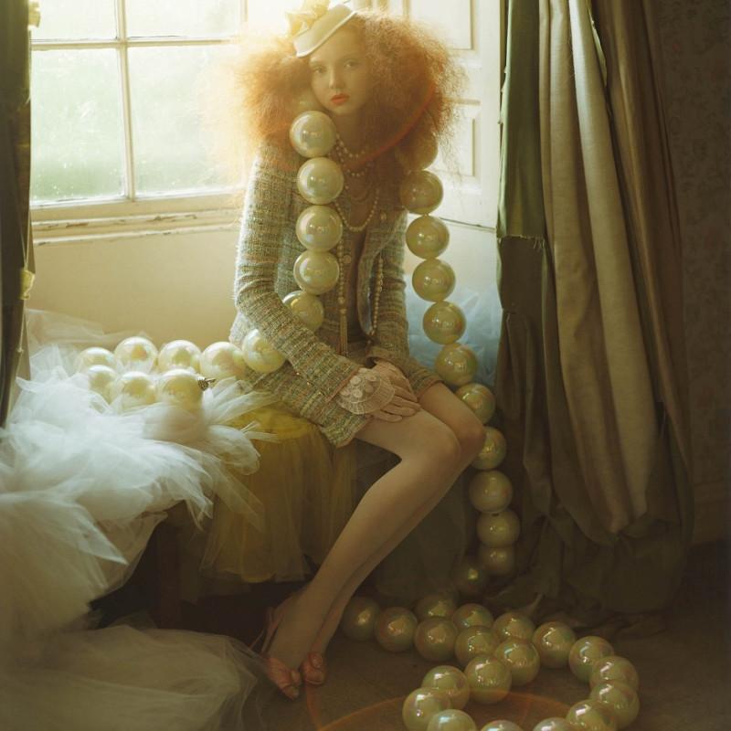《莉莉·科尔和大珍珠》提姆·沃尔克 ©提姆·沃尔克