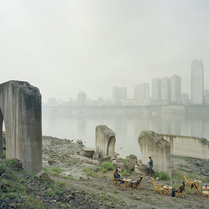 Zhang Kechun Under The Abandoned Pier 2011