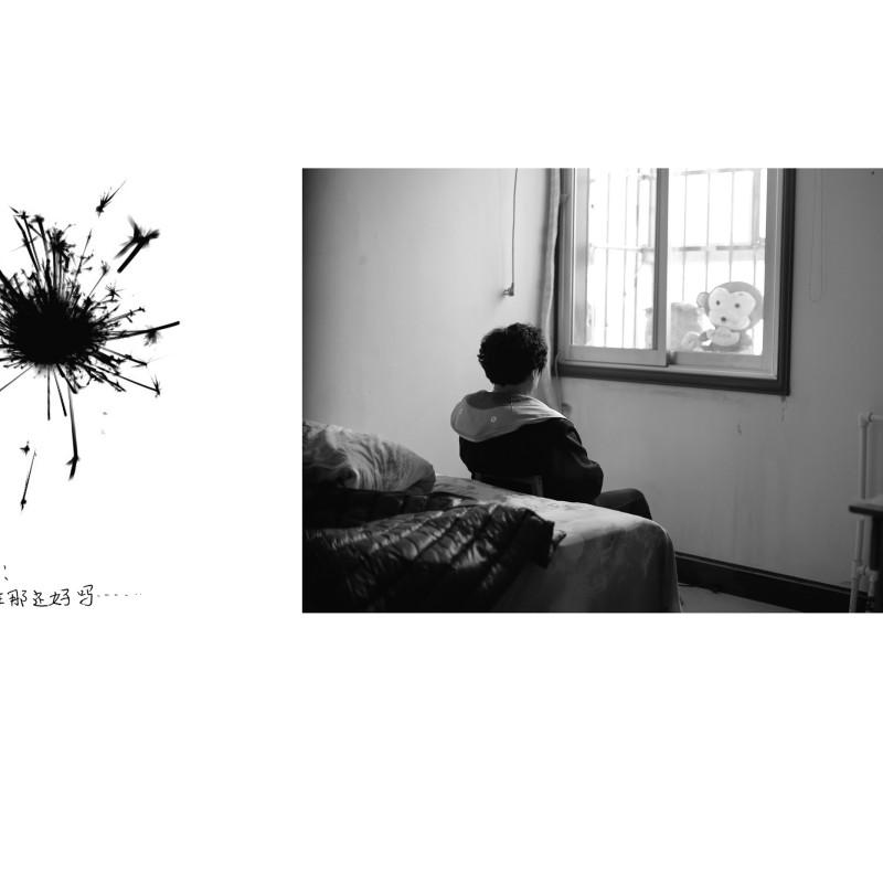 摄影书《永珍》节选,白衫,选自《独白》系列