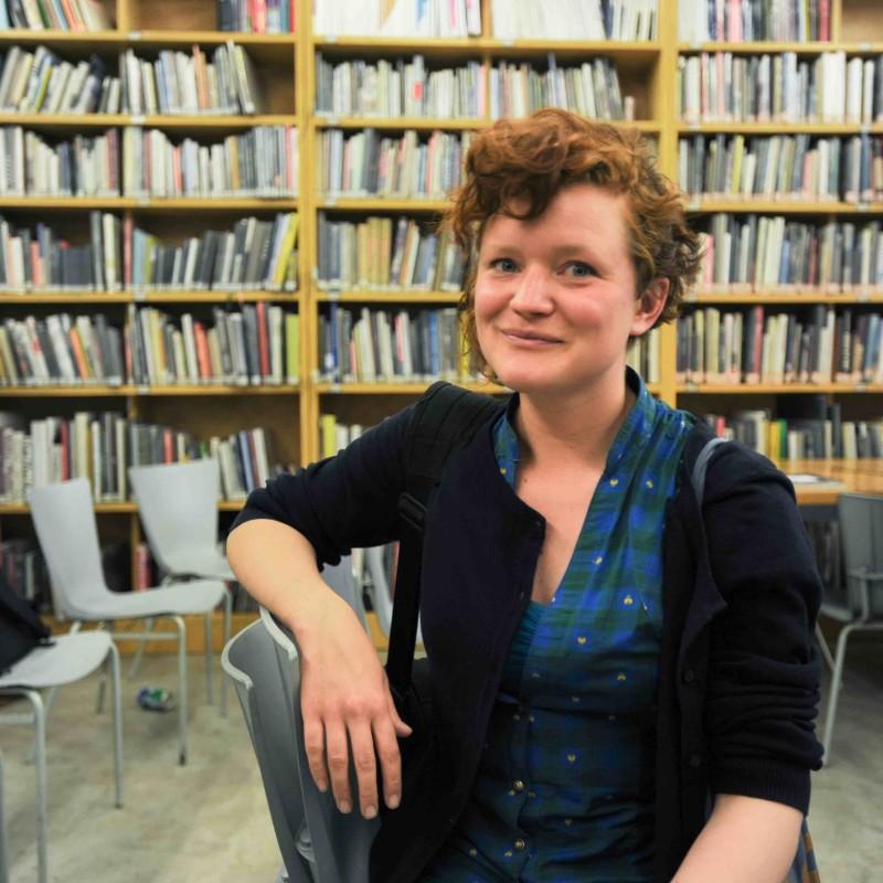 VISIT ARTIST TALK—Sarah Gerats