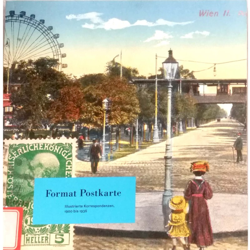 Format Postkarte. Illustrierte Korrespondenzen,1900 bis 1936