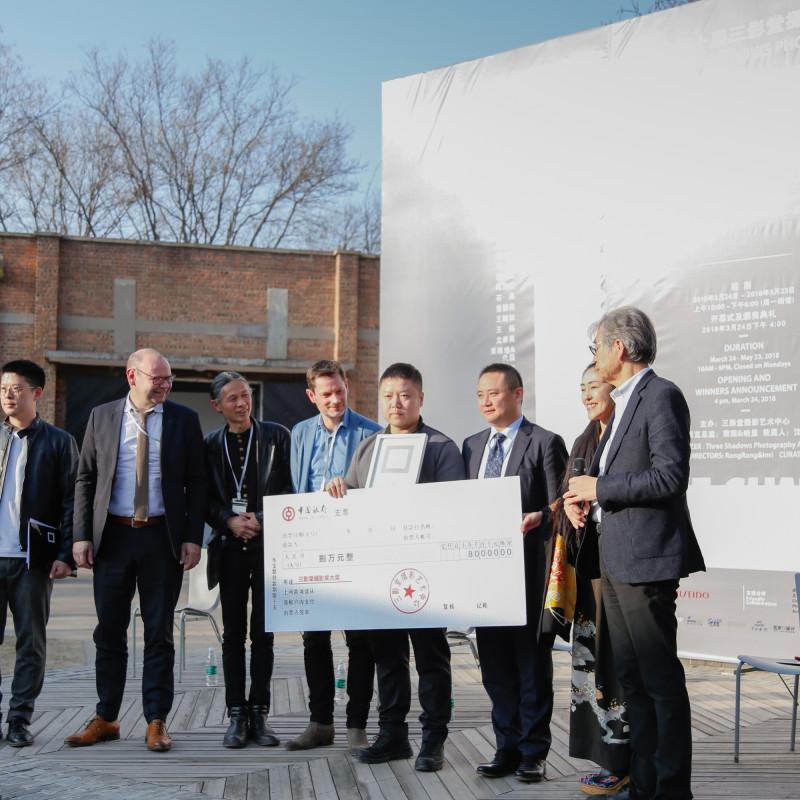 王拓领奖 Wang Tuo Recieved the 2018TSPA Award