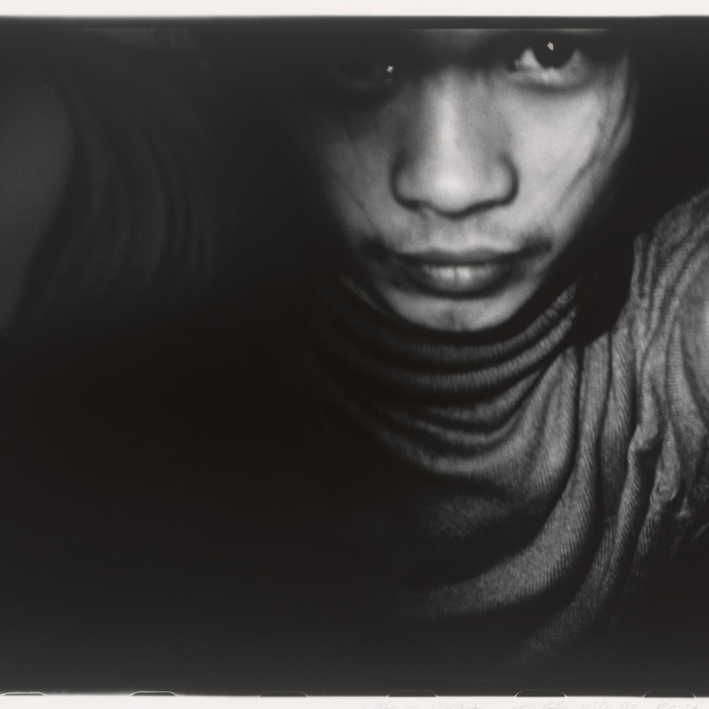 荣荣,《北京东村 自摄像》,1994 RongRong, East Village Beijing Self-portrait, 1994