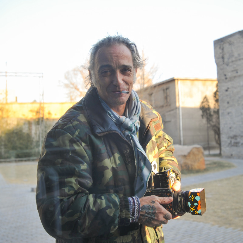 三影堂第一个驻地艺术家阿尔贝多·阿历克斯,2009 Three Shadows' first Residency Artist—Alberto Garcia Alix, 2009