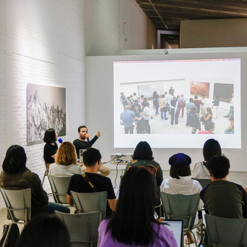 胡安·卡洛斯作品分享会 The artist talk by Juan Carlos
