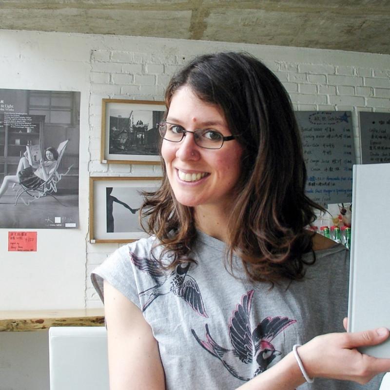 2012年驻地艺术家凯瑟琳·隆莉(比利时) 2012 Residency artist—Katherine Longly(Belgium)