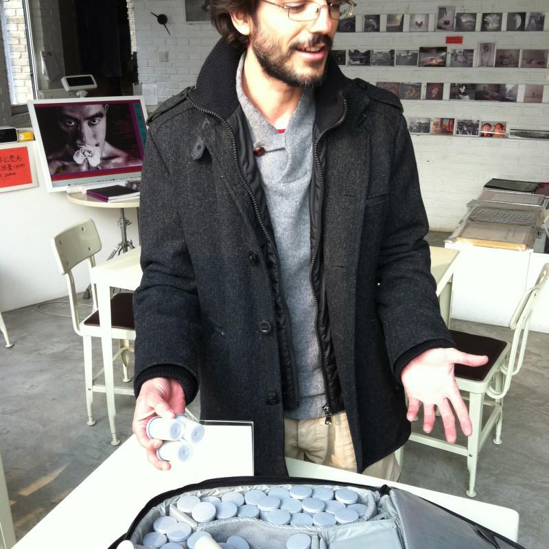 2011年西班牙居住艺术家卡尔斯·拉贝拉 Spainish Residency Artist Carles Labella, 2011