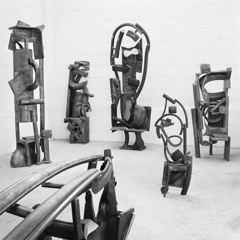 Jeff Lowe, Sculptures 1980 - 1982
