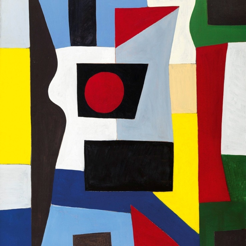 Caziel: 'Je Suis Abstrait', Works from the Fifties