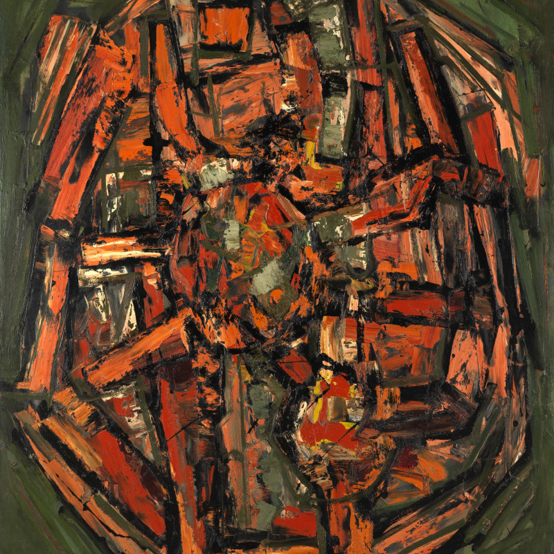 Frank Avray Wilson, Abstract Expressionist Paintings 1953 - 63
