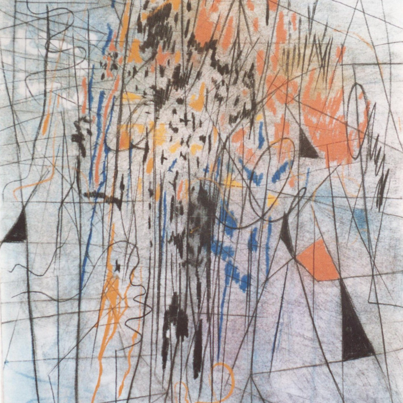 ONLINE EXHIBITION | 10 DAYS OF CAZIEL, Select Pastel & Crayon Works From 1965