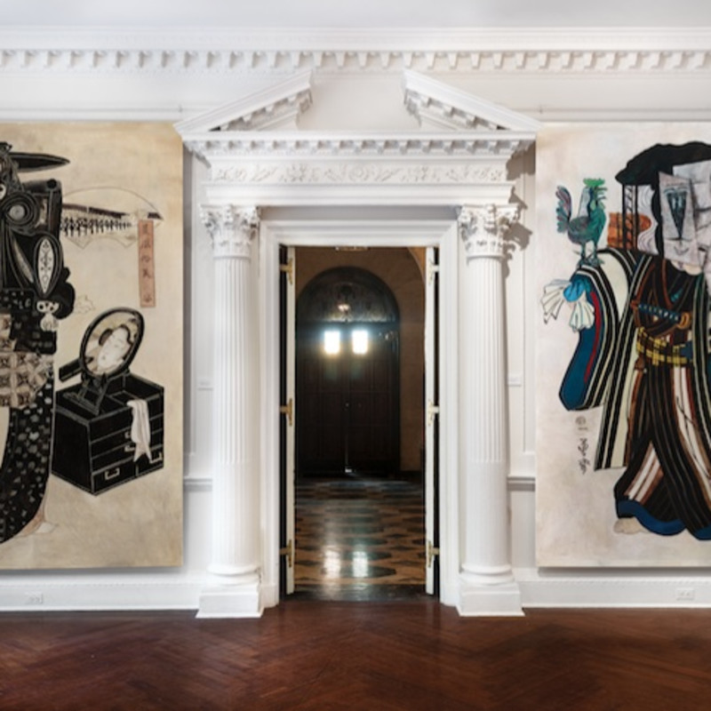 Press: Wolfe Von Lenkiewicz Channels Picasso In Upper East Side Exhibition, Forbes