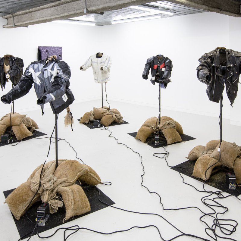 <p><strong>Mike Pratt</strong> <em>The Meeting of Two Eyebrows</em> Workplace London, Installation View. Photo: Wig Worland</p>