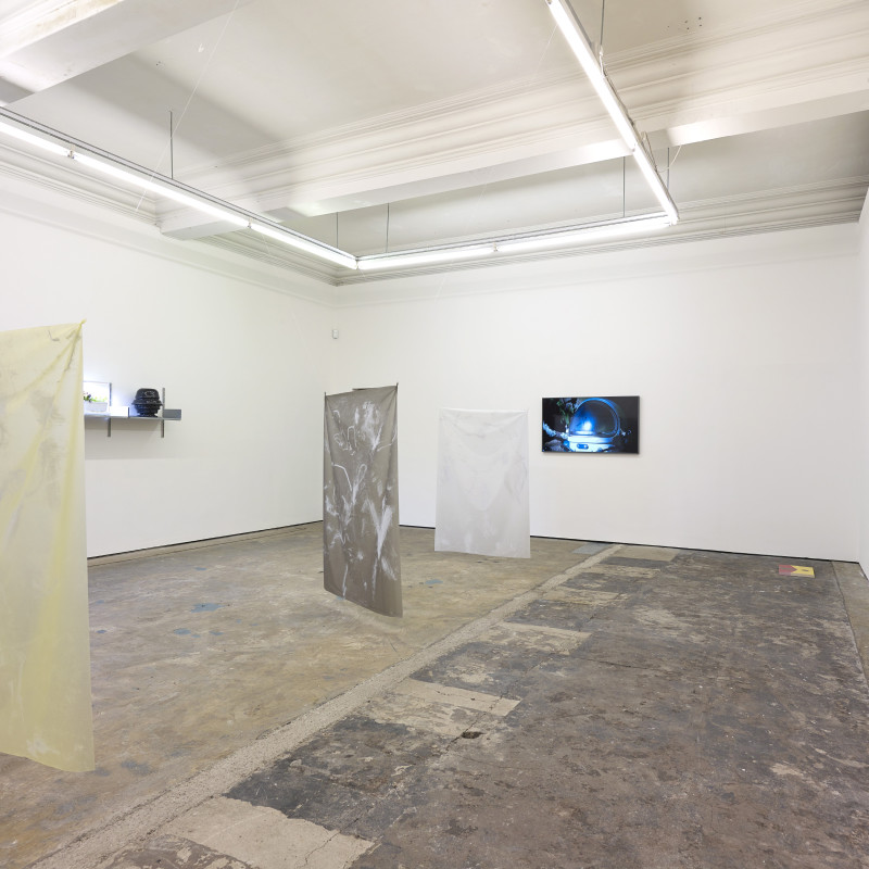 3-Phase: We Can't Float Here, 27 April - 9 June,  2018,  Installation View at Workplace Gateshead. Photo: John Mckenzie