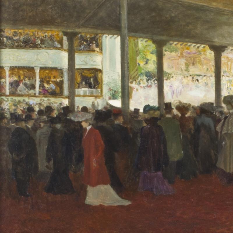 Louis Abel-Truchet, A L'Opera, 1902