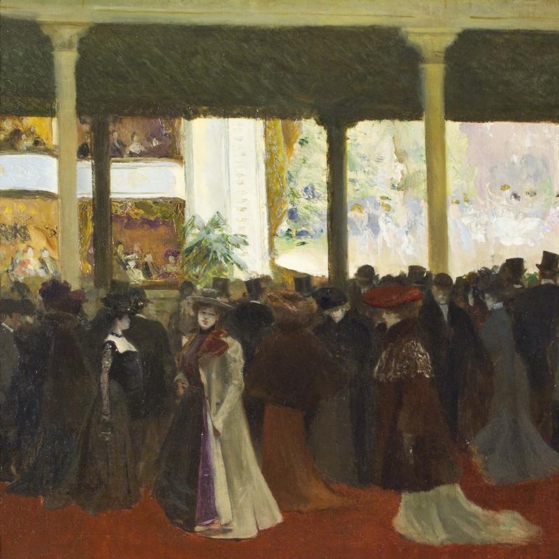 Louis Abel-Truchet, A L'Opera
