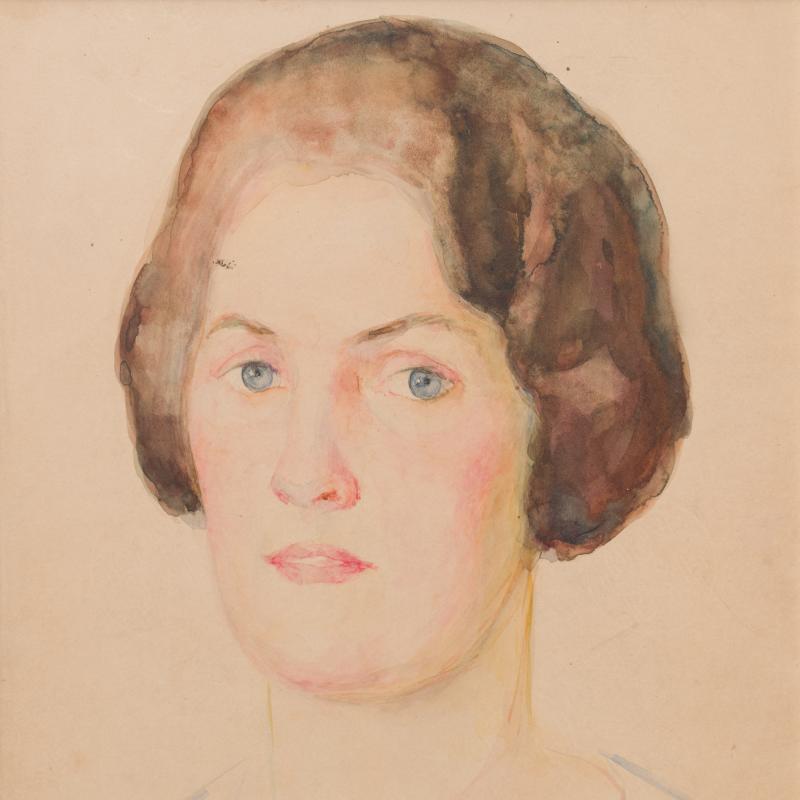 Simka Simkhovitch, Head of a Woman, c. 1925