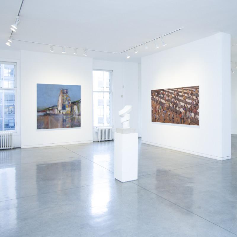 Simon Nicholas | Urban Landscapes, Exhibition on view through November 30th.