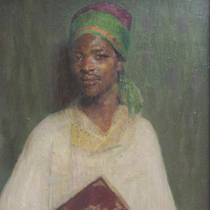 Hovsep Pushman, The Reader of the Koran