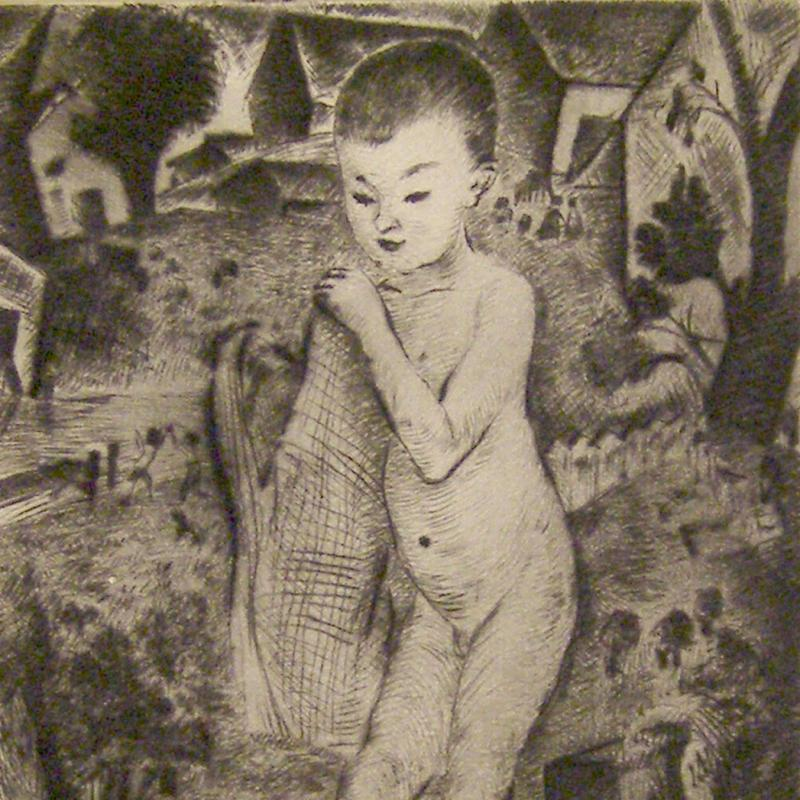 Simka Simkhovitch, Child, C. 1928