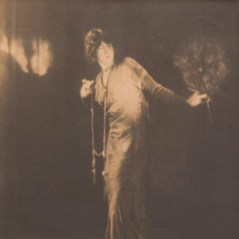 Baron Adolf de Meyer, Portrait of Gertrude Vanderbilt Whitney, Circa 1916