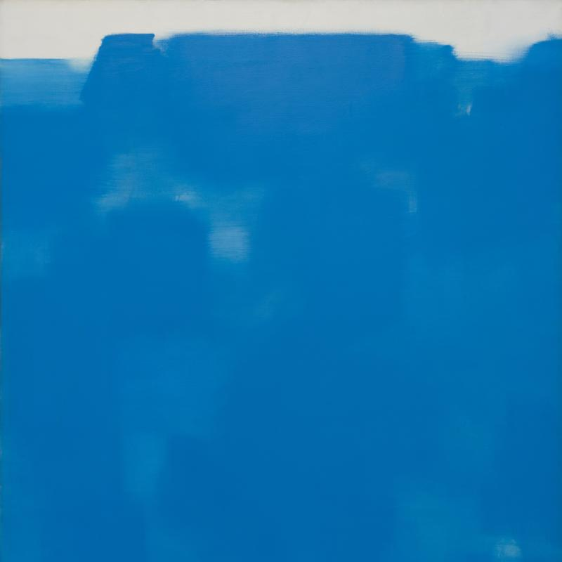 Carl Holty, Twelfth Night (Blue, White), 1962