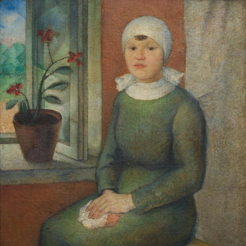 Simka Simkhovitch, Olga, Russian Woman, 1922