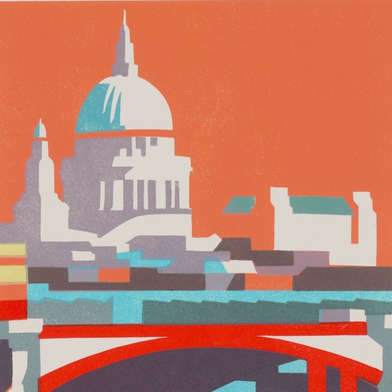 Paul Catherall RE, St Paul's II (detail)