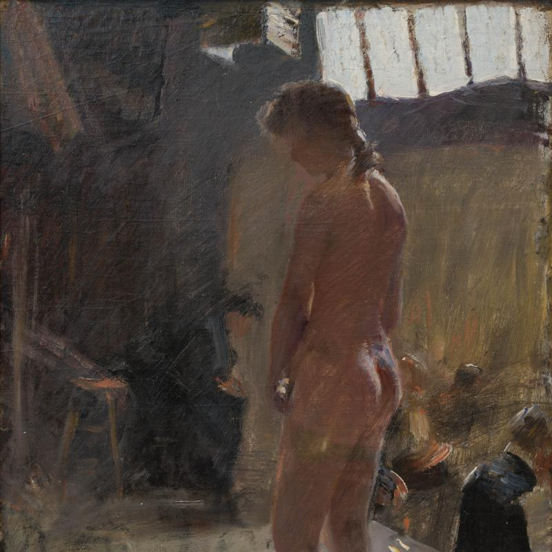 Frederick Trapp Friis, Nude