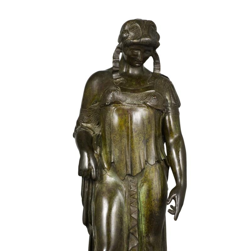 Leo Friedlander, Female Warrior, Circa 1916