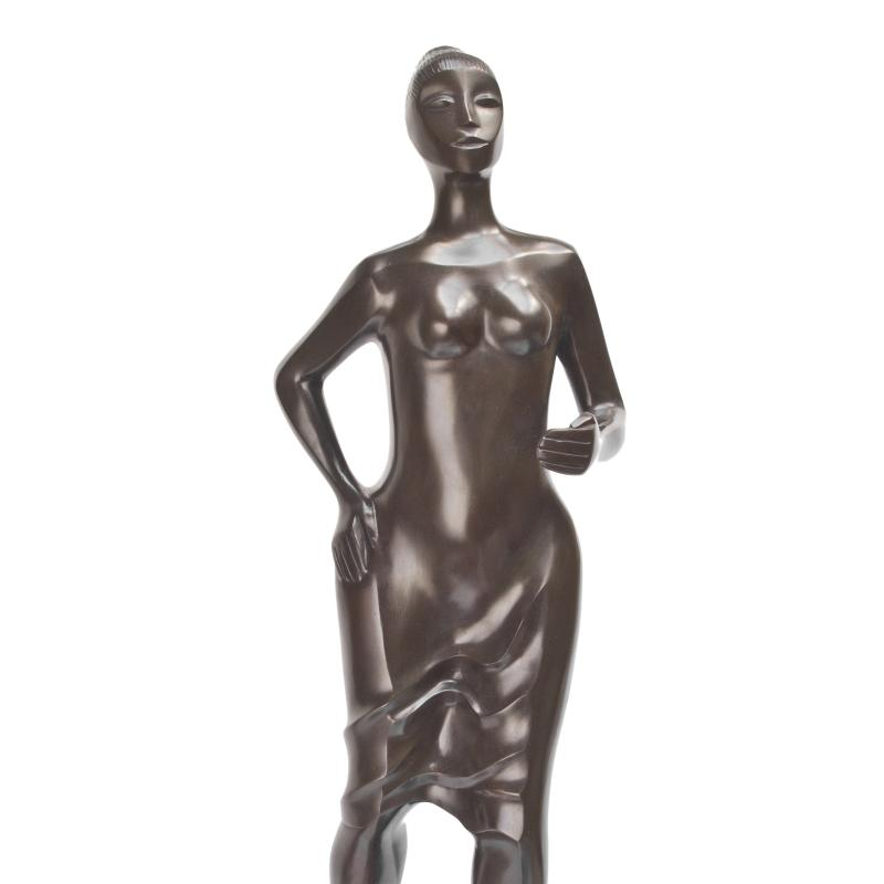 Elizabeth Catlett, Stepping Out, Circa 2000