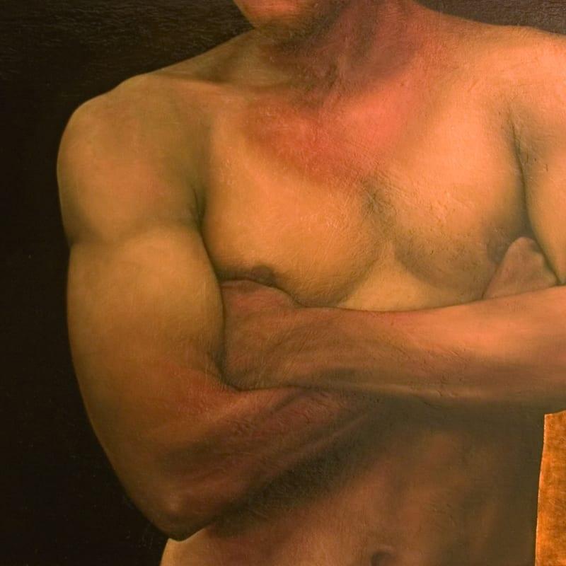 'Feral', oil on panel, 64 x 87cm