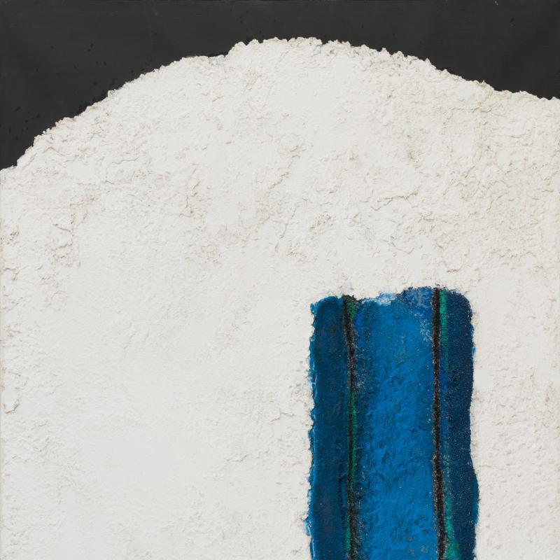 Enrico Donati, Astral Blue, Fossil Series, 1960
